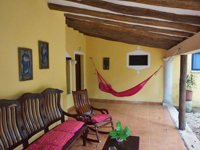 Special Stay Chichen Itza - Haciënda hotel terras