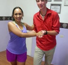 Optionele activiteit - salsa dansles met kinderen
