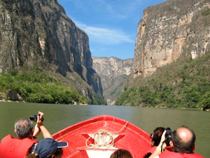 Optioneel - excursie Sumidero kloof