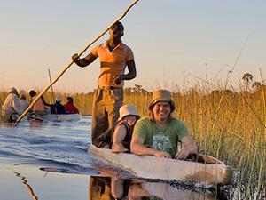 Namibië reis - varen Okavango Delta
