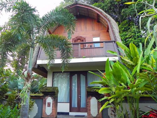Hotel im balinesischen Stil in Ubud