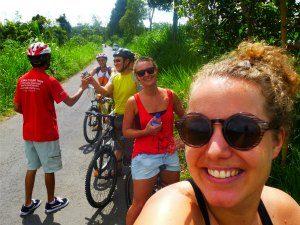 Yagyakarta: Radtour zum borobodur Java