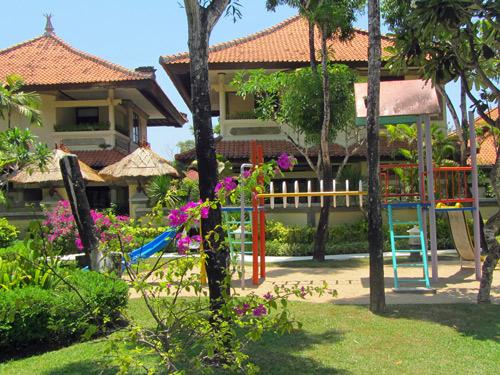 Spielplatz in Jimbaran