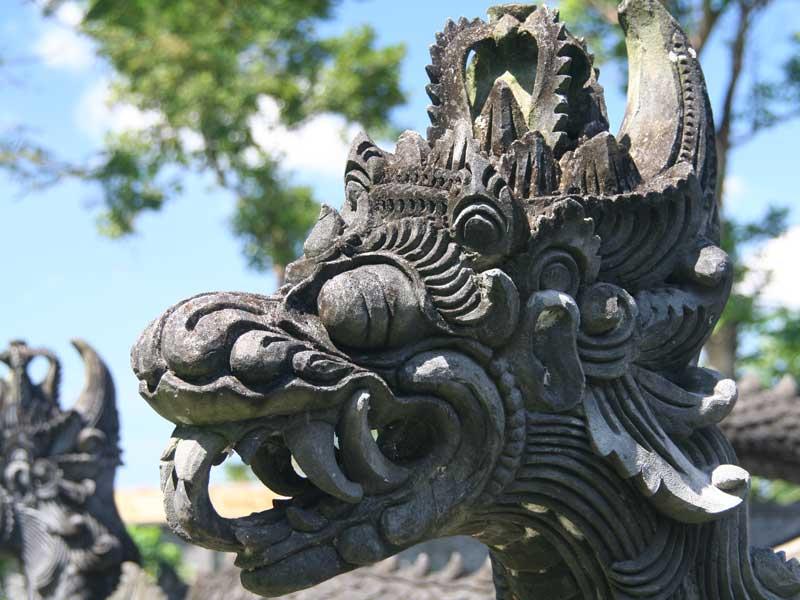 Balinesische Tempelfiguren