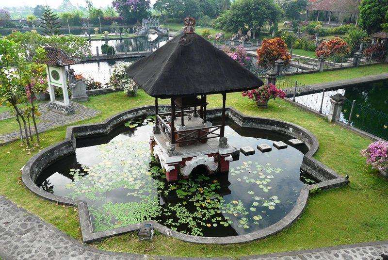 Wasserpalast auf Bali