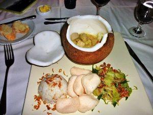 Bali Highlights: Abendessen bei Ubud