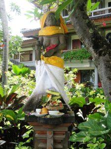 Figur auf Bali