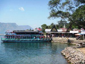 Lake Toba: Ankunft auf Samosir