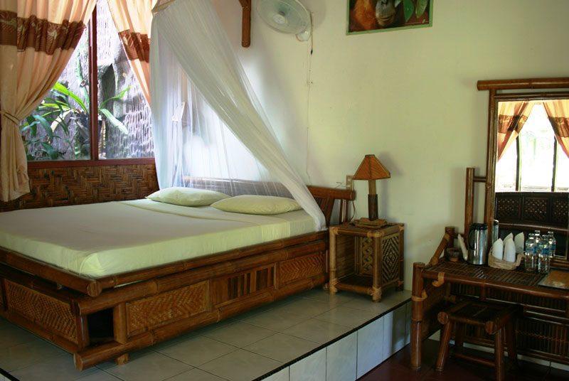 Ein Zimmer der Unterkunft in Bukit Lawang