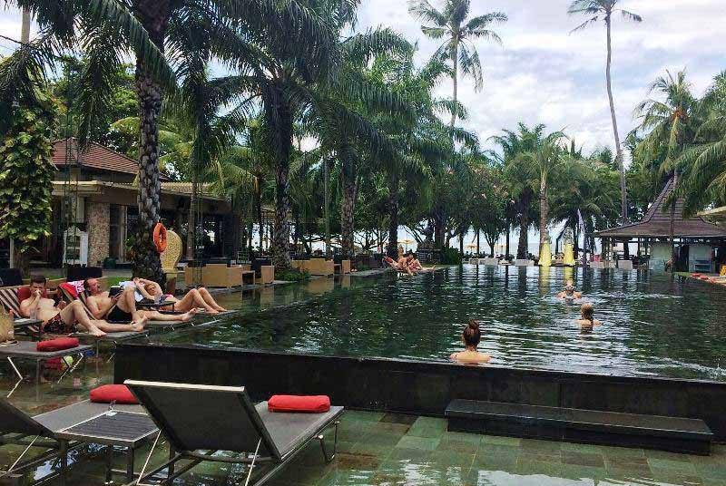Entspannung pur in tropischer Umgebung