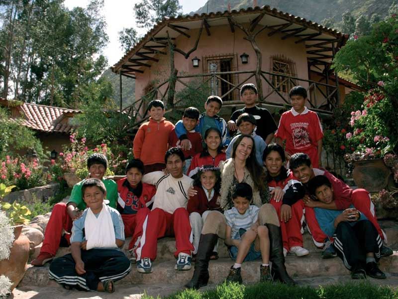 Heilige vallei Peru kids - special stay project