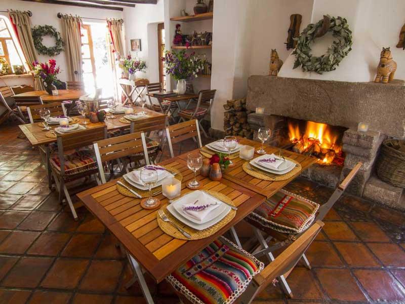 Heilige vallei Peru kids - special stay restaurant