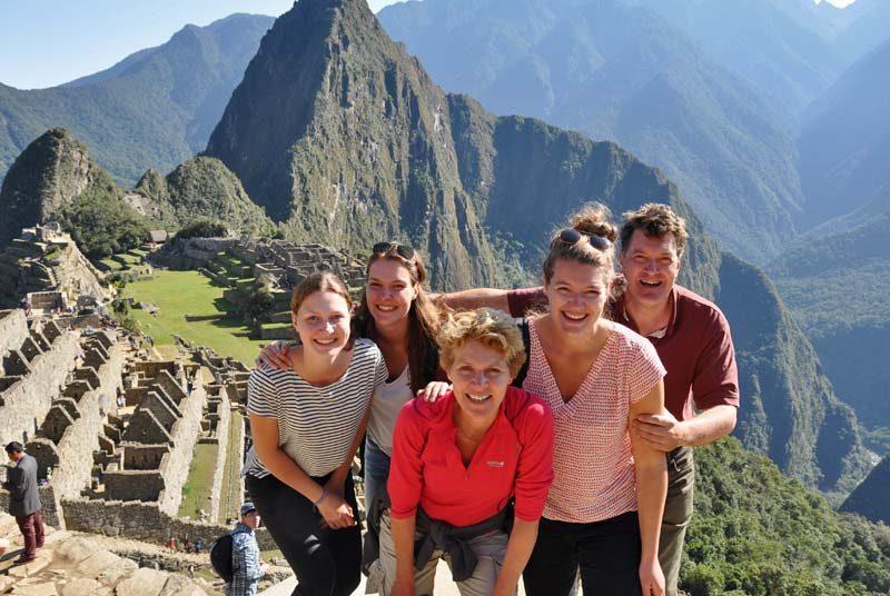 familiereis Peru - Machu Picchu