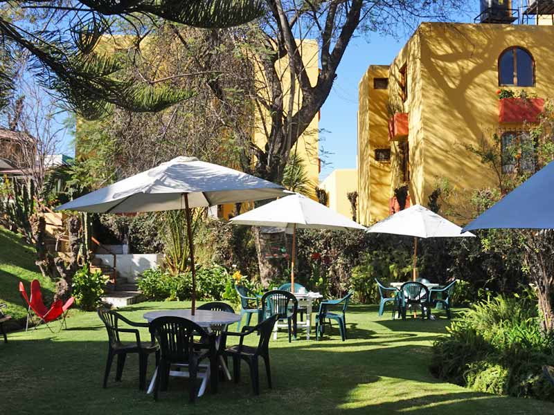 Arequipa Peru special stay - tuin