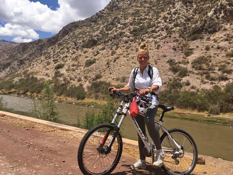 2 weken Peru met kinderen - mountainbiken heilige vallei