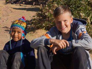Peru met kinderen - locals
