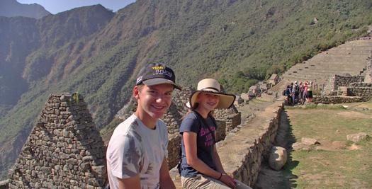 Peru Kids - Machu Picchu