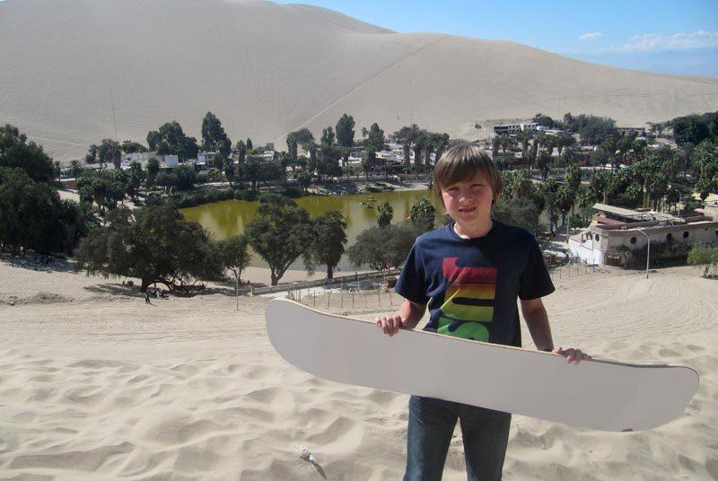 Ballestas eilanden & Nazca lijnen - Peru kids