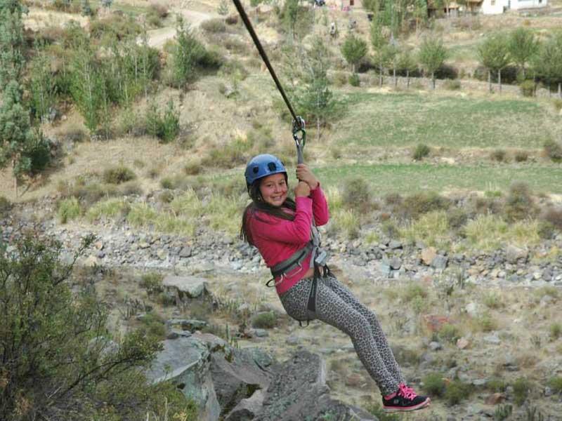 Colca Canyon tour - familiereis tokkelen