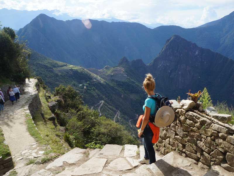 Peru individuele rondreis met kinderen - zonnenpoort Inca trail