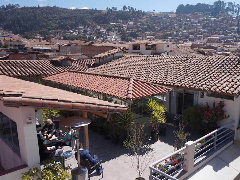 Cusco Peru kids - comfort hotel dakterras