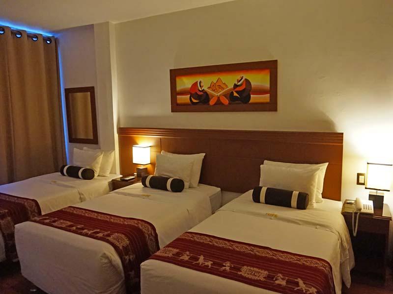 Machu Picchu comfort hotelkamer - rondreis Peru