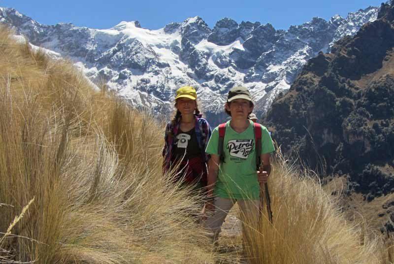 Alternatieve Inca Trail - lares trail met kinderen