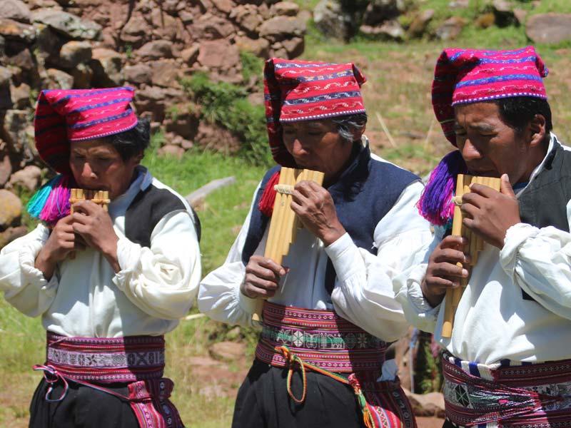 Titicacameer Peru Kids - panfluit