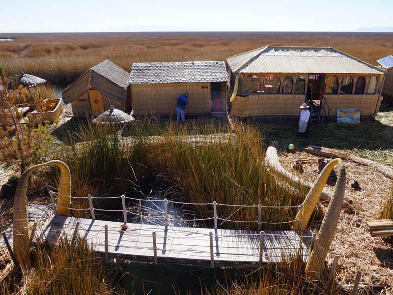 Peru kids - Titicacameer rieteiland verblijf