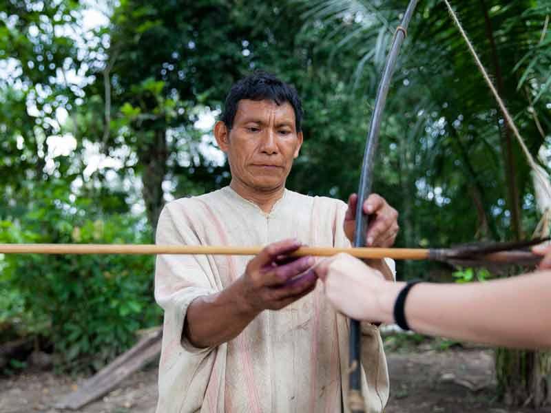 Amazone Peru Kids - boogschieten