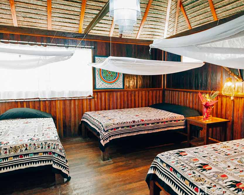 Amazone Peru Kids - comfort lodge bungalow