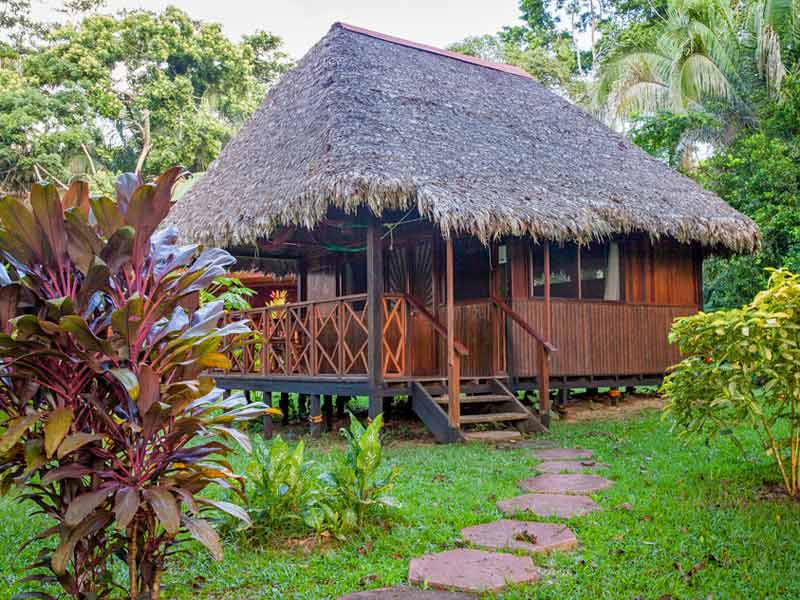 Amazone Peru Kids - comfort jungle lodge bungalow