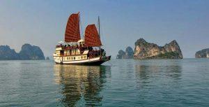 Vietnam rondreis met kinderen - Halong cruise