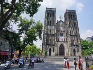 Hanoi met kinderen - kathedraal