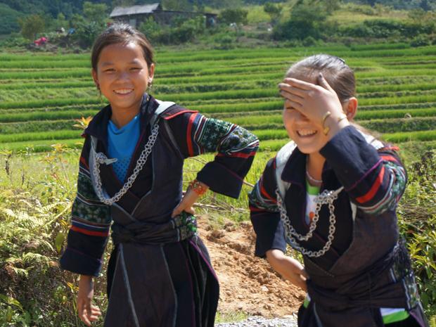 Sapa Vietnam met kinderen