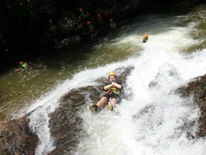 Canyoning Vietnam - glijbanen