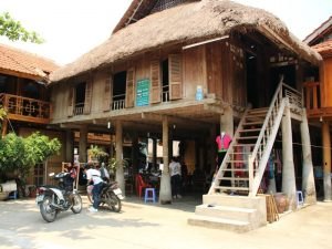 Thuis bij de Thai in Mai Chau - rondreis Vietnam 3 weken