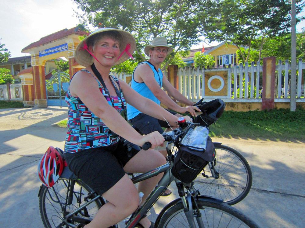 Hué Vietnam - fietsen