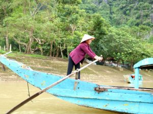 Phong Nha Ke Bang National Park - bootje