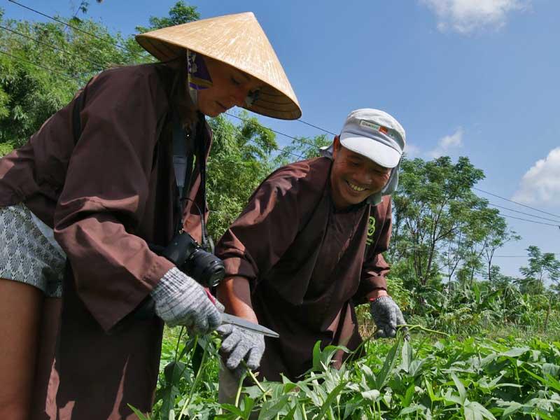 Hué Vietnam - op het platteland