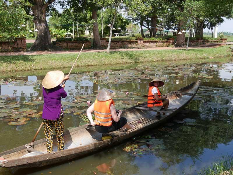 Hué Vietnam - boottocht