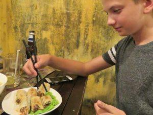 Foodsafari Hanoi - rondreis Vietnam net even anders
