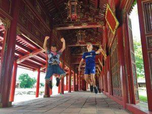 Hue Citadel - rondreis Vietnam met gezin