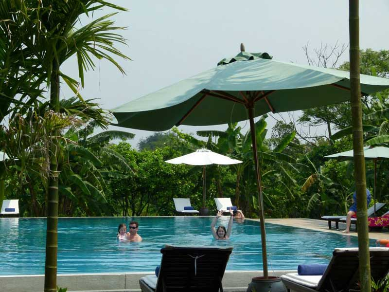 Hué Vietnam - zwembad