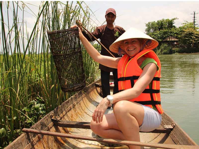Hué Vietnam - vissen