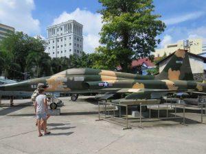 Saigon met kinderen - War Remnant Museum