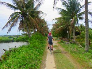 Vietnam rondreis met kinderen - Hoi An fietsen