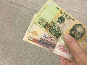 visum Vietnam - geld
