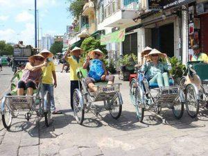 Riksja Saigon - rondreis Vietnam 3 weken