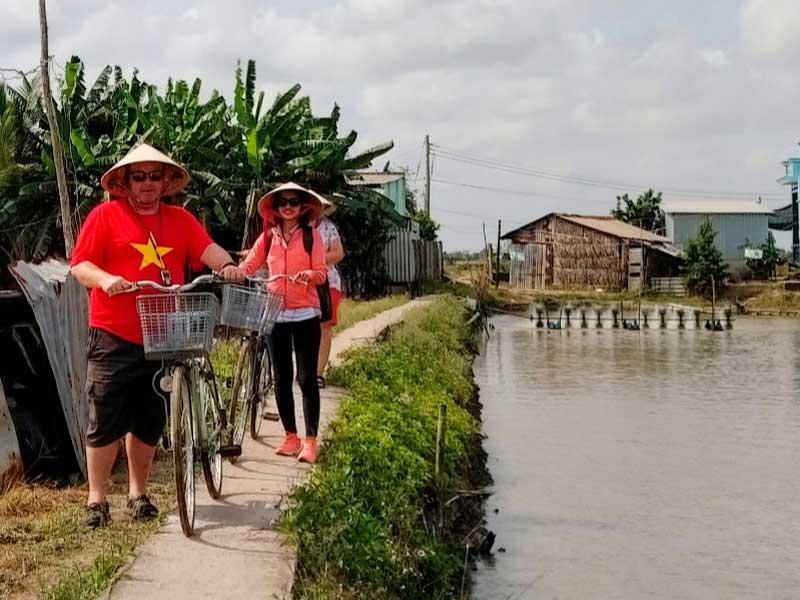 Saigon met kinderen - Mekong met kinderen